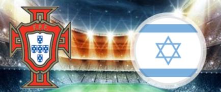 Portugal VS Israel, a draw game