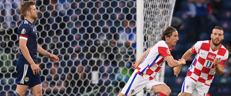 Euro 2020: Stunning Luka Modric goal sees Croatia into the knockout stage!