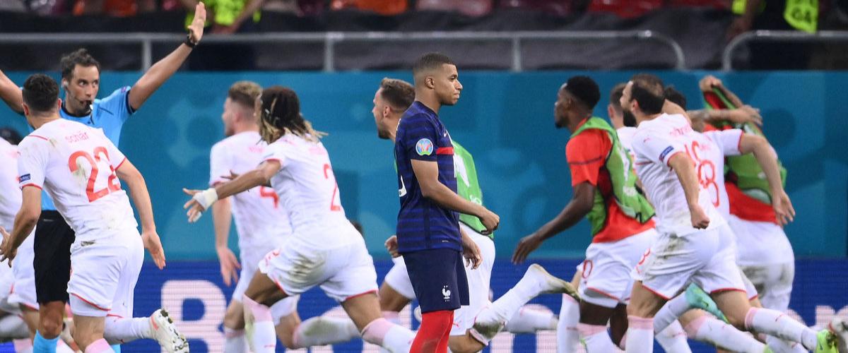 Euro 2020: France shocked by Switzerland!