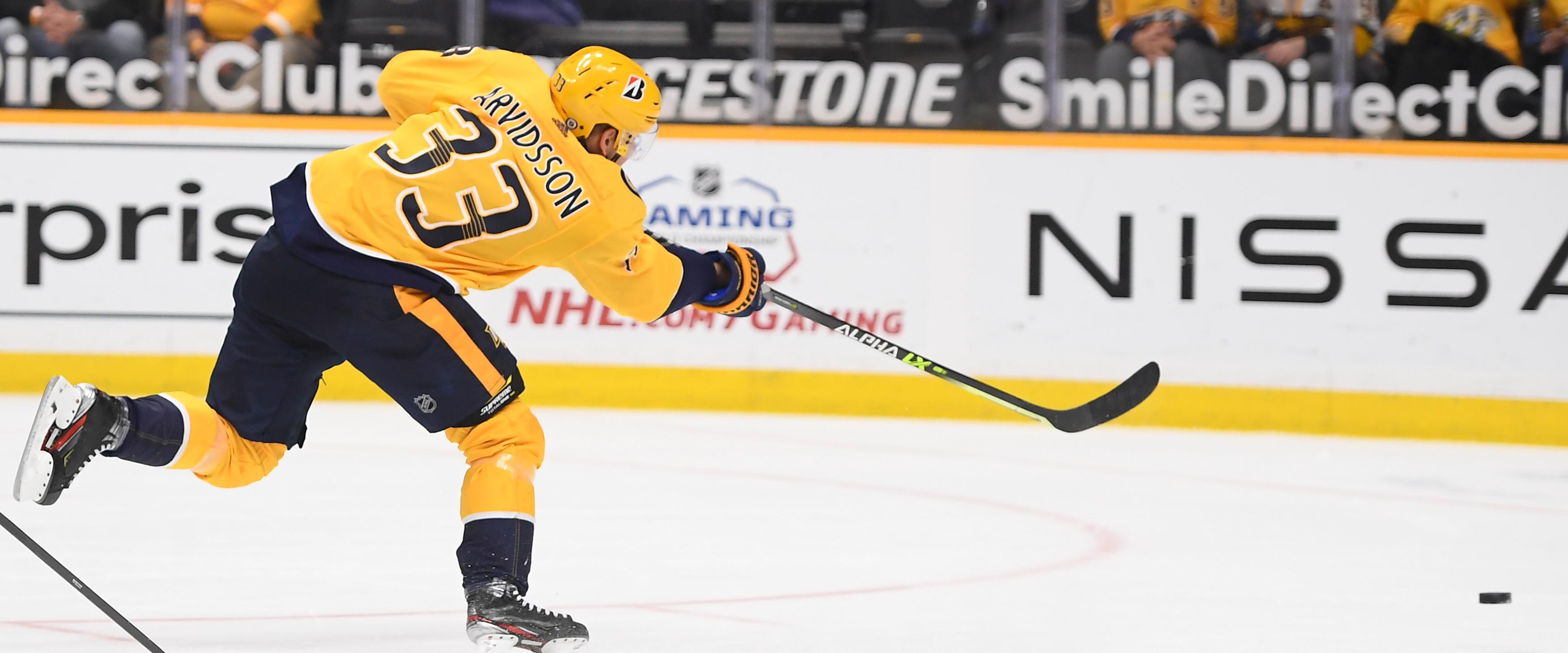 Bittersweet day: The Predators trade Viktor Arvidsson to the LA Kings