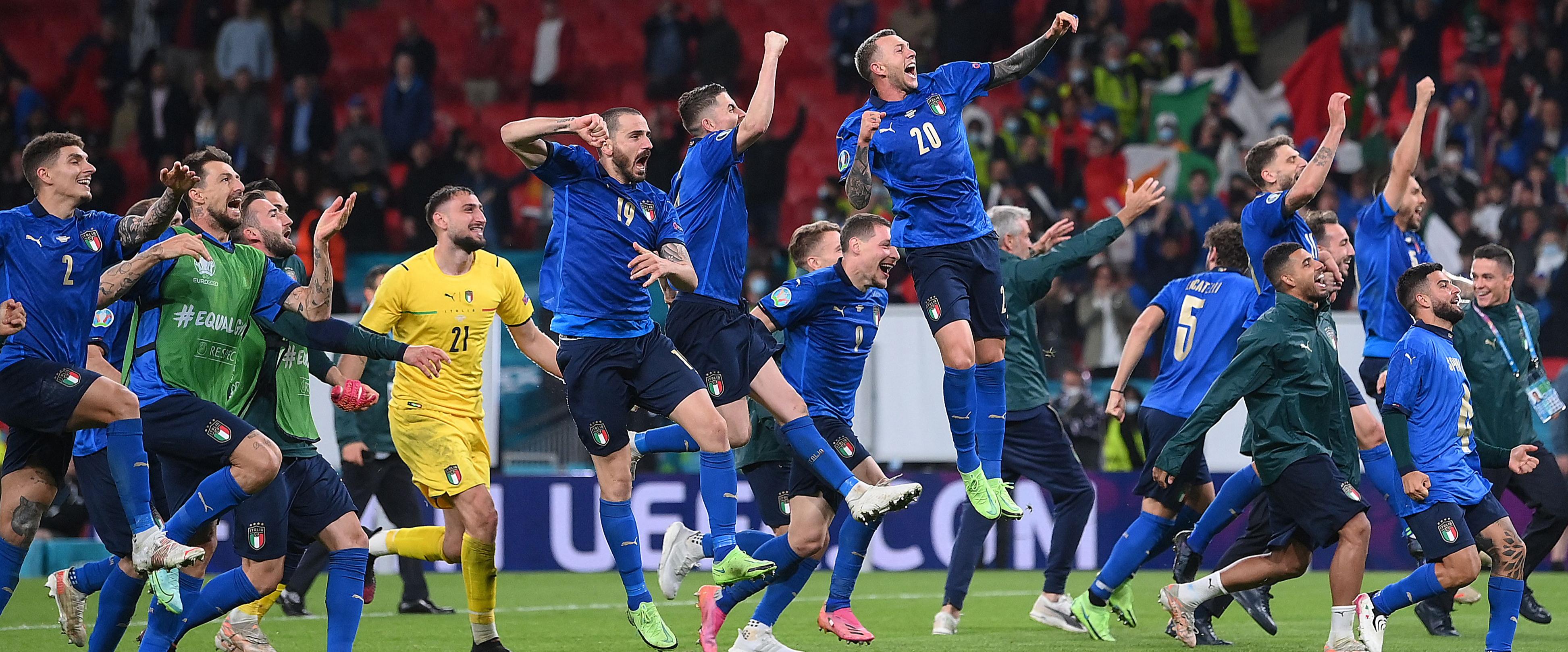 Euro 2020: Lucky Italians see off Spain in penalties