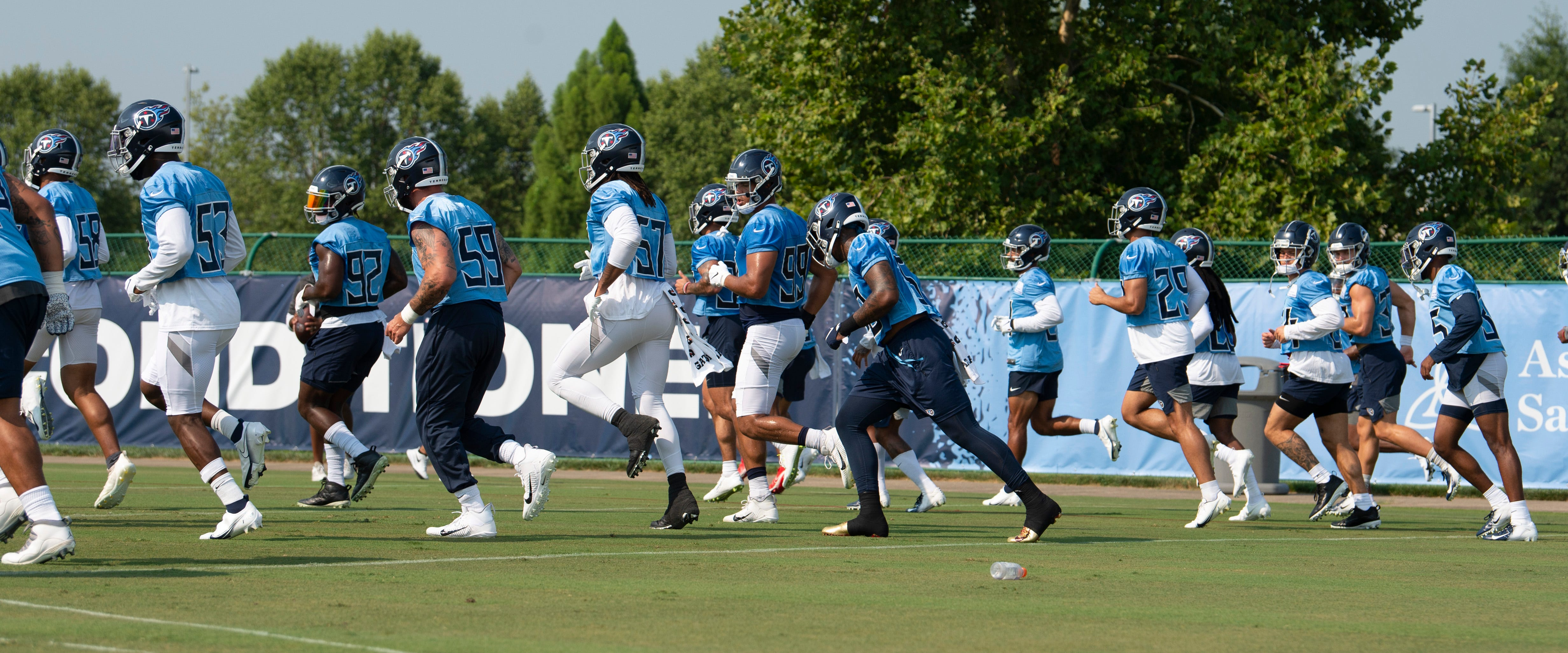 Titans: Videos and notes from day one of training camp