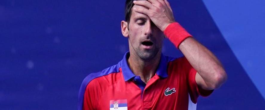 No Medal for Djokovic
