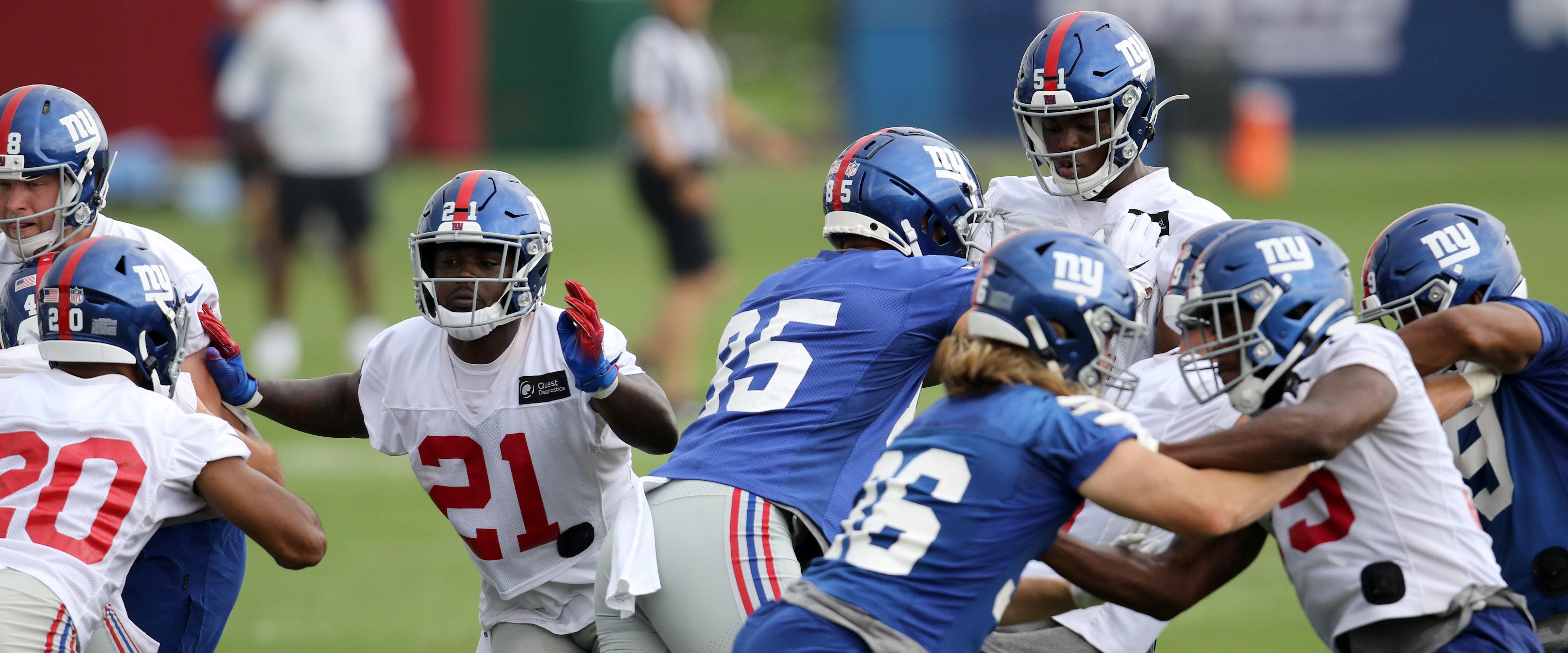 WHAT?! A brawl shuts down New York Giants practice