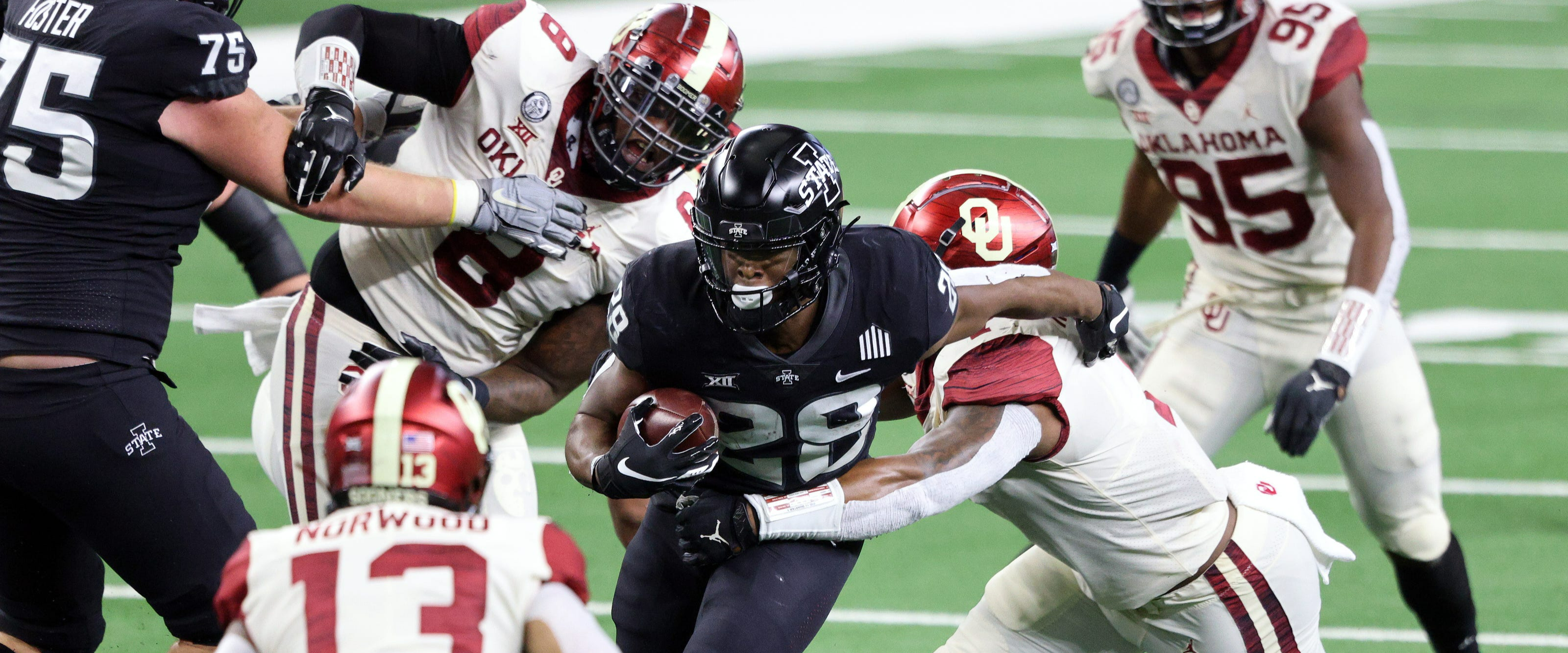 Can Oklahoma or Iowa State Crash the Playoff and Win it All?
