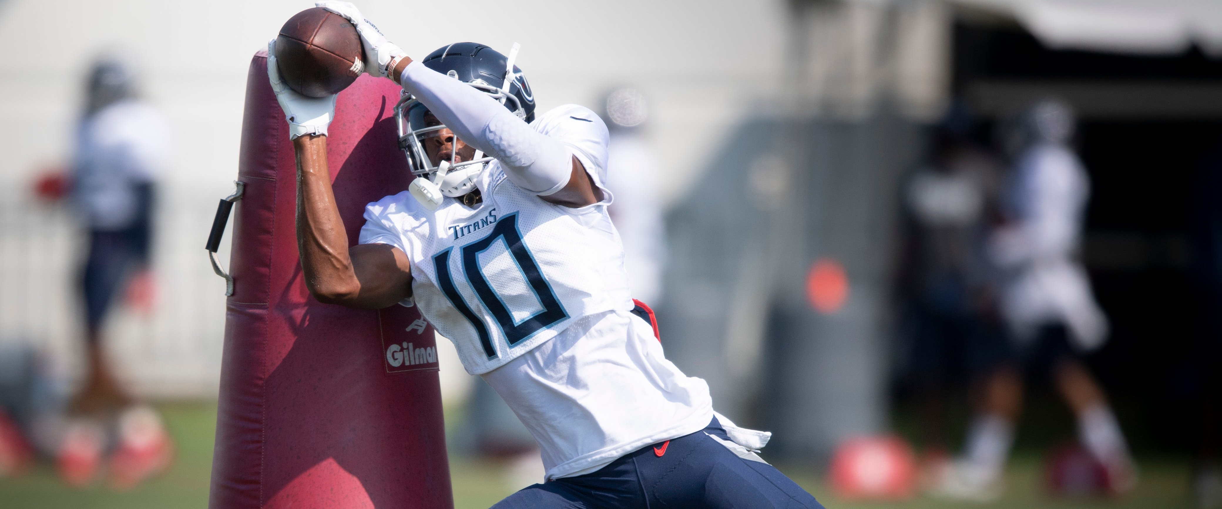 Titans: Rookie Dez Fitzpatrick is in danger of getting cut