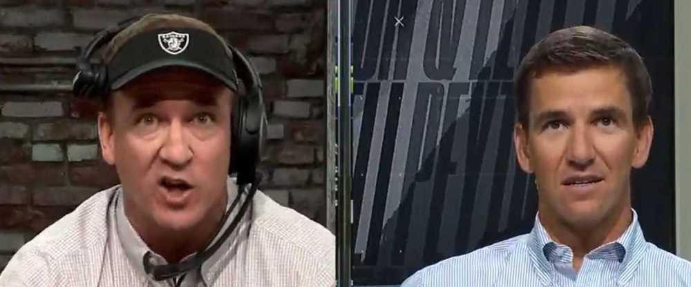 MNF: The Manning Brothers' broadcast is phenomenal