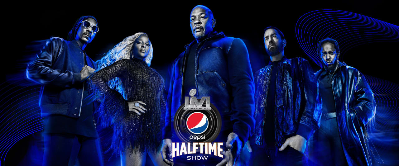 The Super Bowl LVI halftime show is drastically different from years past