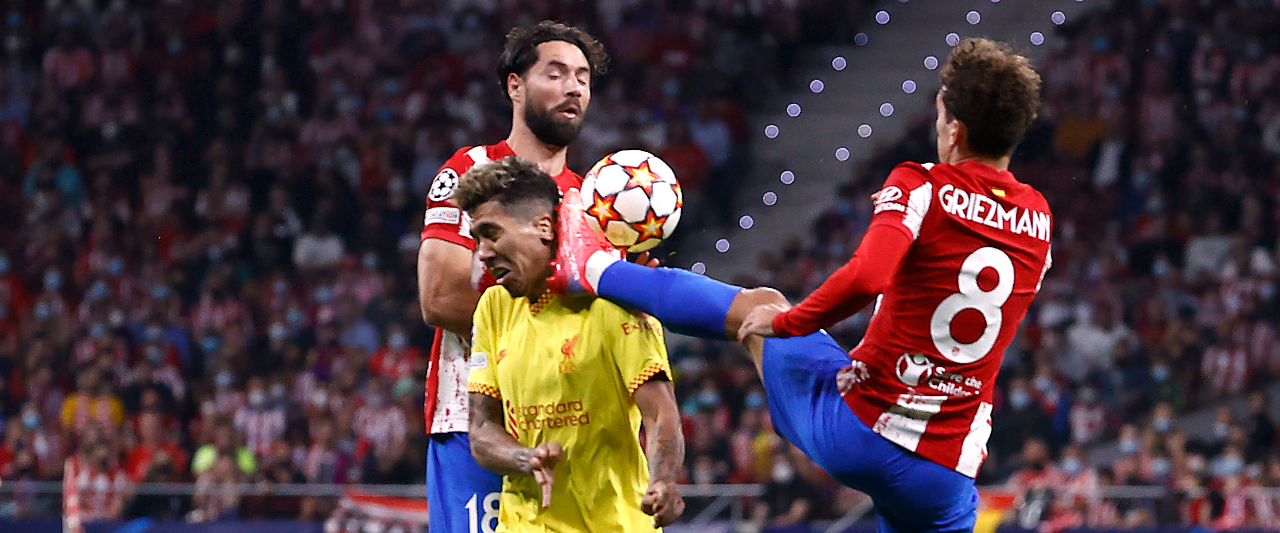 MUST-SEE: Atletico Madrid striker sent off for kicking his opponent in the face!