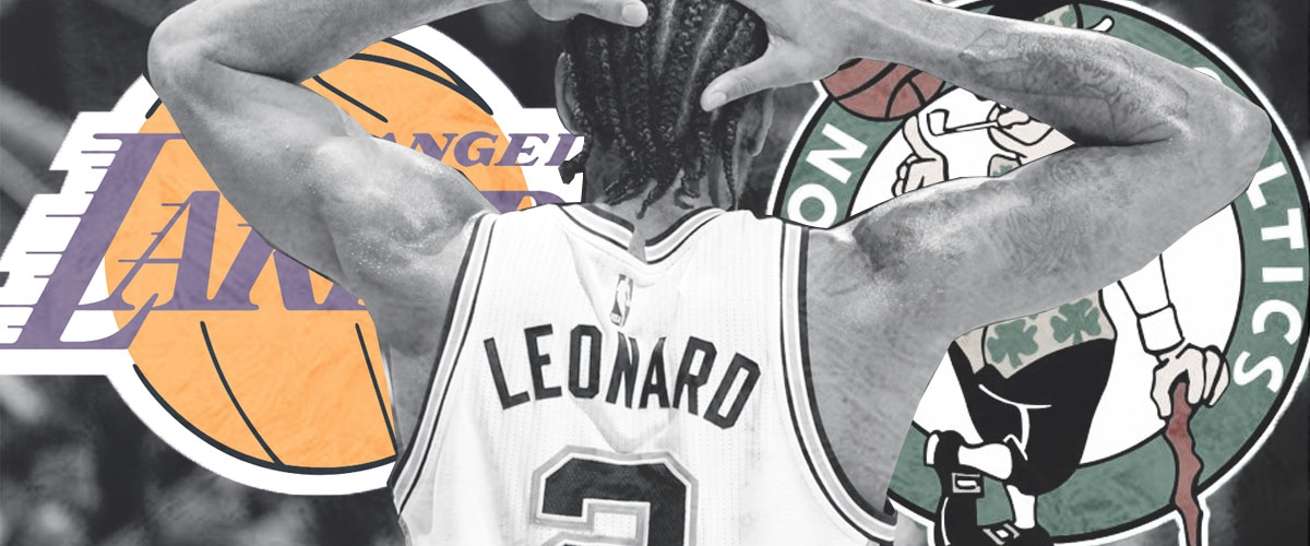We may see a Lakers vs Celtics matchup for Kawhi Leonard.