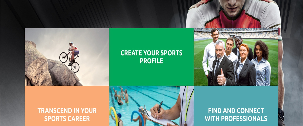 Create your sports profile and unlock the world of opportunities
