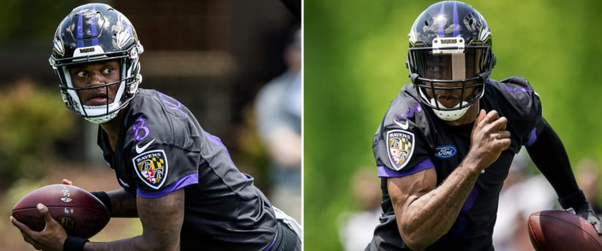 Robert Griffin III and Lamar Jackson have a lot to prove on the Baltimmore Ravens.