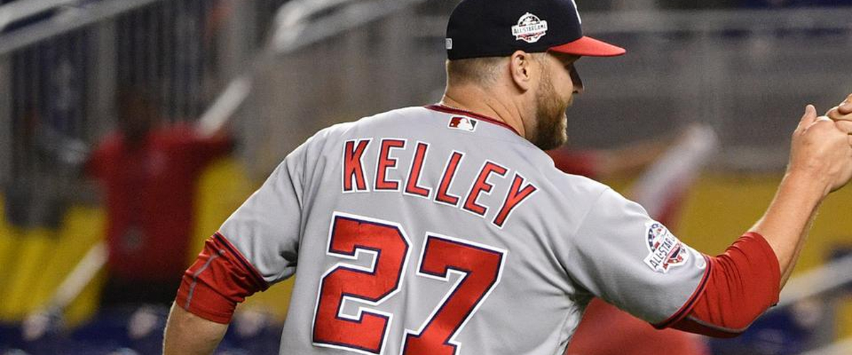 Nationals Trade Reliever Shawn Kelley to Athletics