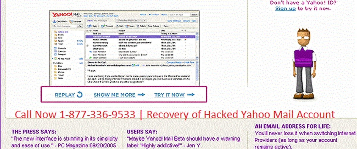 yahoo.com recovery email