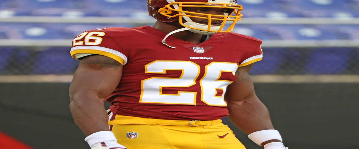 "Adrian Peterson may have out lived the ""All Day"" nickname but can he help the Redskins win?"