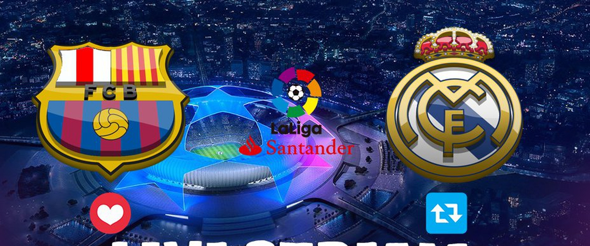 Real Madrid vs Barcelona live stream EPL Free:Watch El-Clasico 2018 Soccer p2p Online Radio Video Broadcast Link on HDTV PC