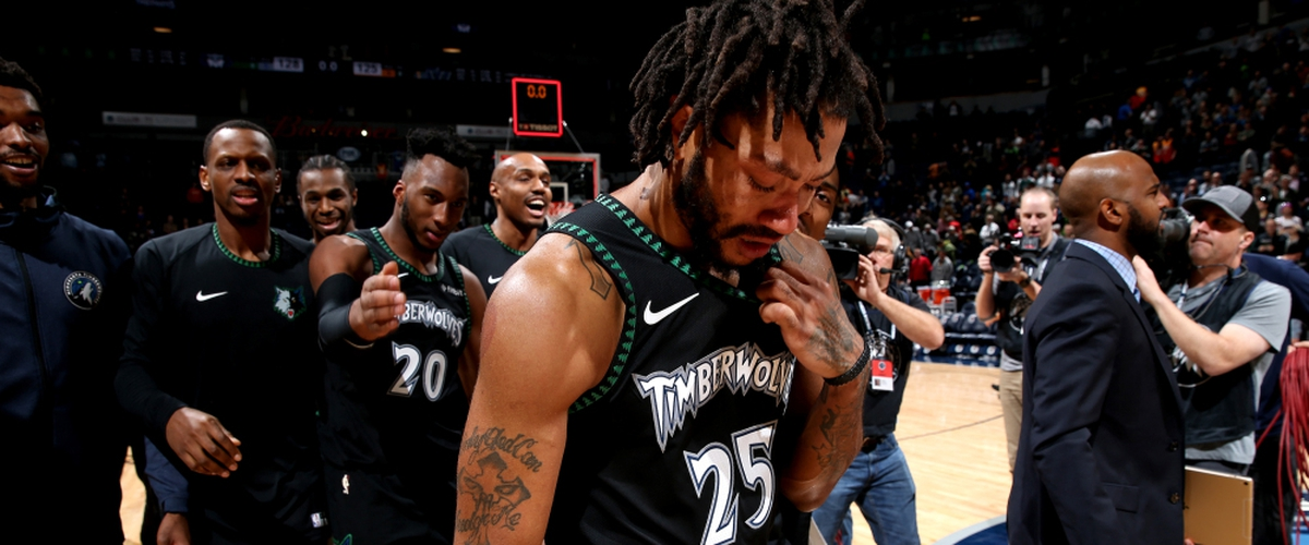 Derrick Rose a superstar again? Drops 50 points against the Jazz.