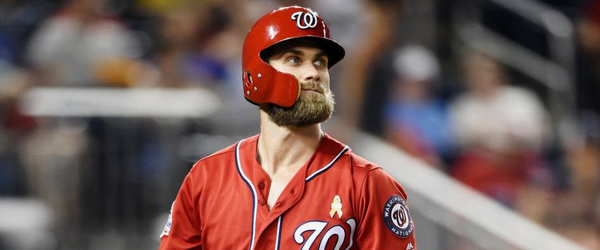 Bryce Harper Turned Down $300 Million Contract From Nationals at End of Season