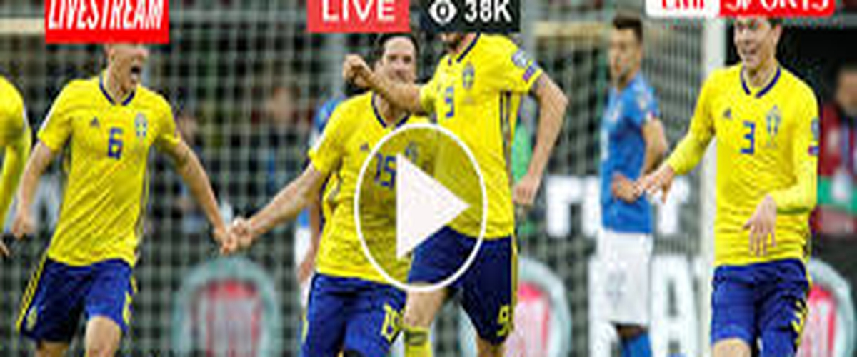 Soccer (LIVE)  Sweden vs Russia Live Stream Free Soccer GAME