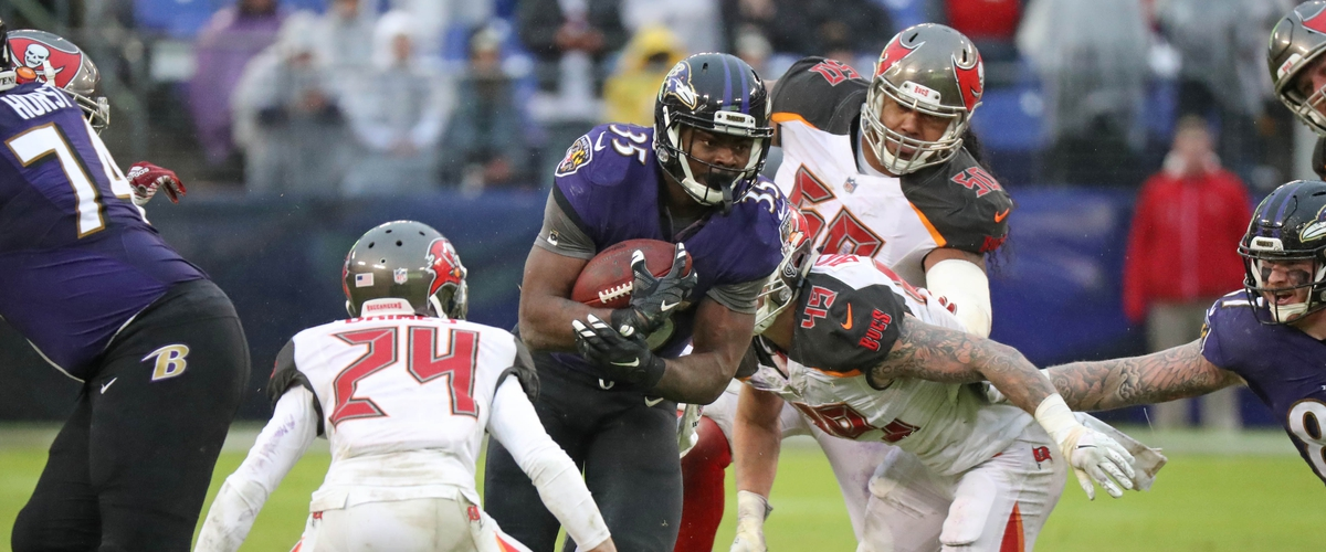Ravens run all over the Bucs in 20-12 loss