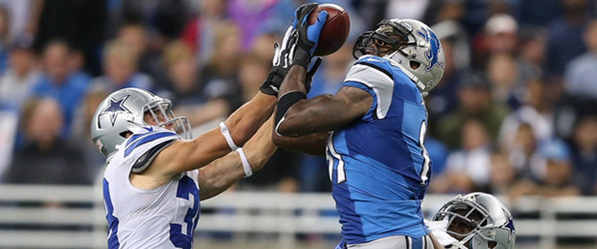 A retrospective on Calvin Johnson's awe inspiring game on October 27, 2013