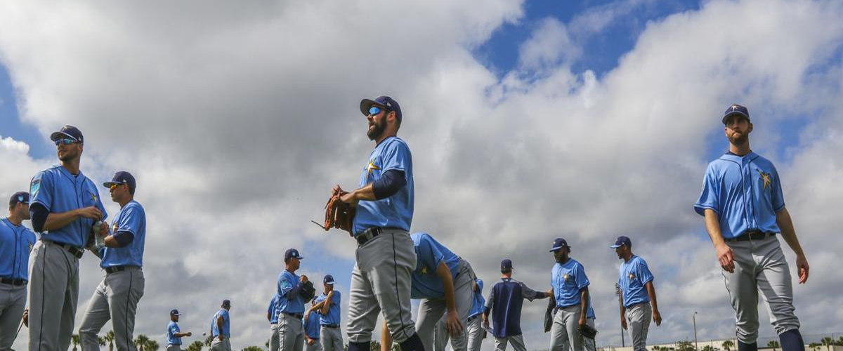 Rays open camp with few roster spots open