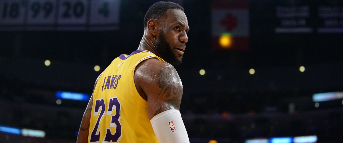 Lebron James and the Lakers will miss the Playoffs