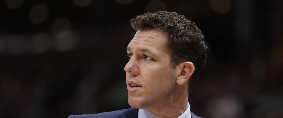 Luke Walton is Out as Coach of the Lakers.
