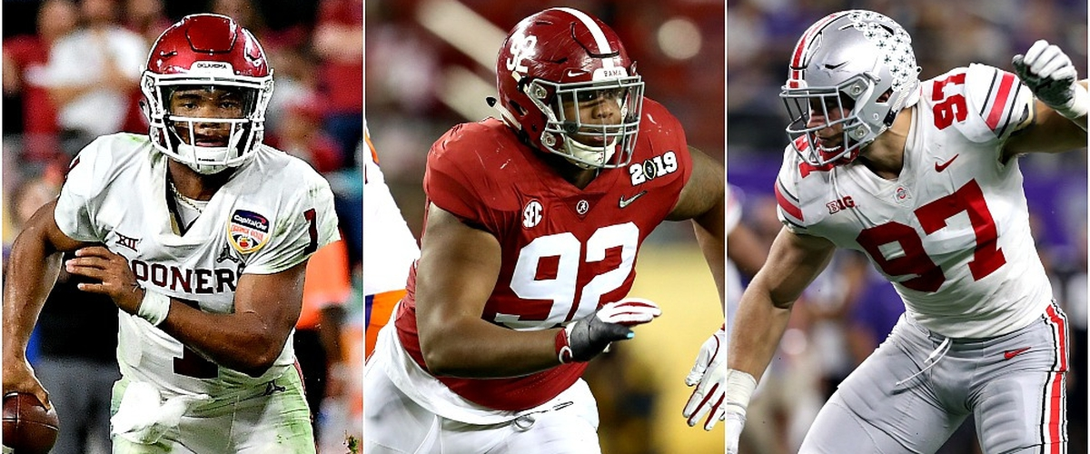 Kenny's First NFL Mock Draft