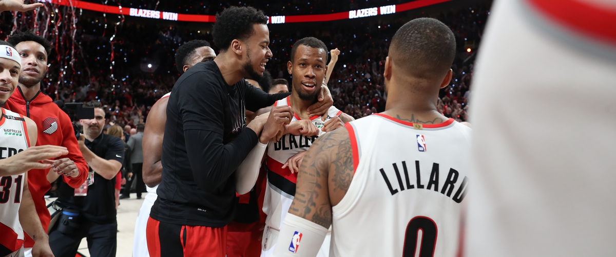 Trail Blazers Beat Nuggets in 4 OT Thriller.