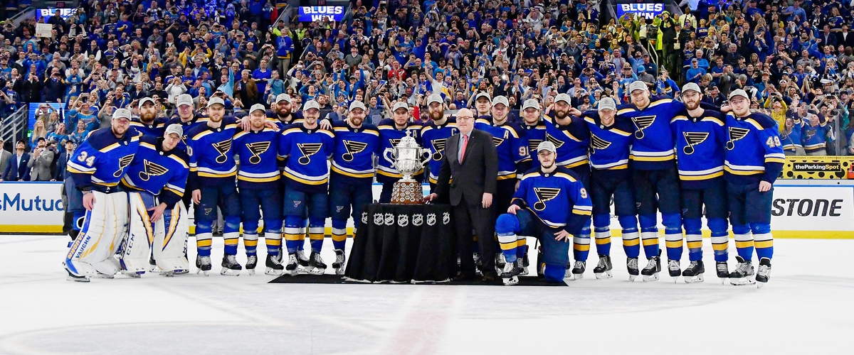 The St Louis Blues are Going to the Stanley Cup Finals.