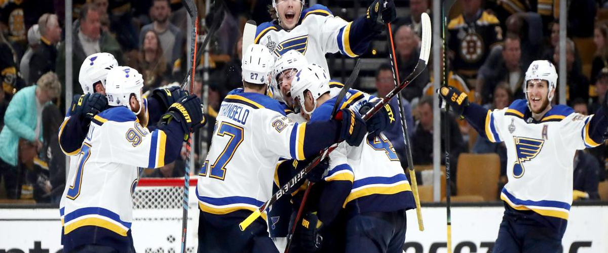 Blues steal game 2 In Boston Wednesday Night.