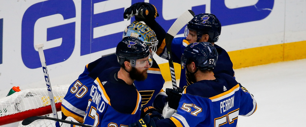 The St Louis Blues Even Up the Stanley Cup Finals.