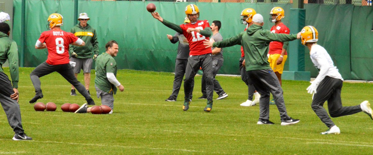 2019 Packers Camp by Position: Quarterbacks