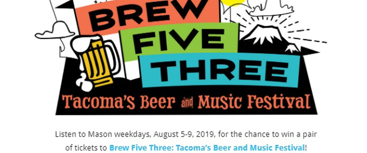 Tacoma Beer And Music Festival Sweepstakes - Enter To Win Tickets