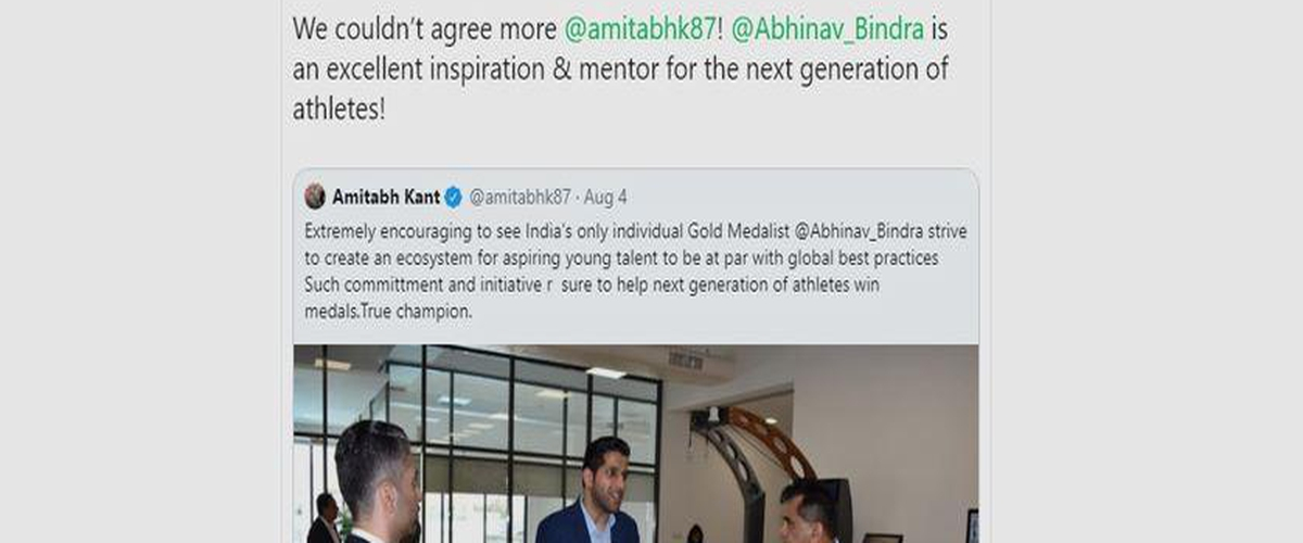 Here is Why Abhinav Bindra Called Anil Kapoor His Dad