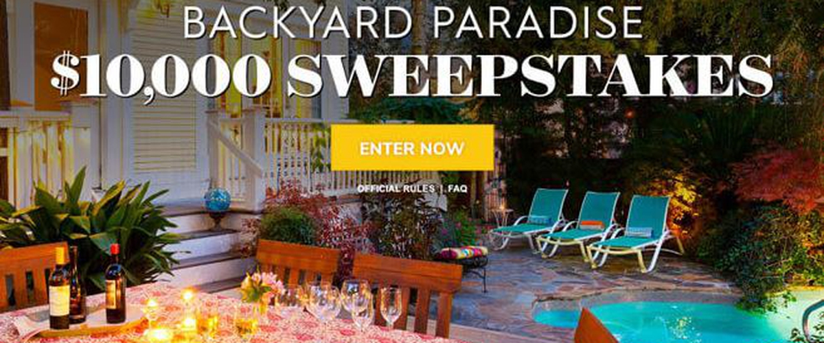 Better Homes And Gardens $10K Summer Sweepstakes - Chance To Win $10000