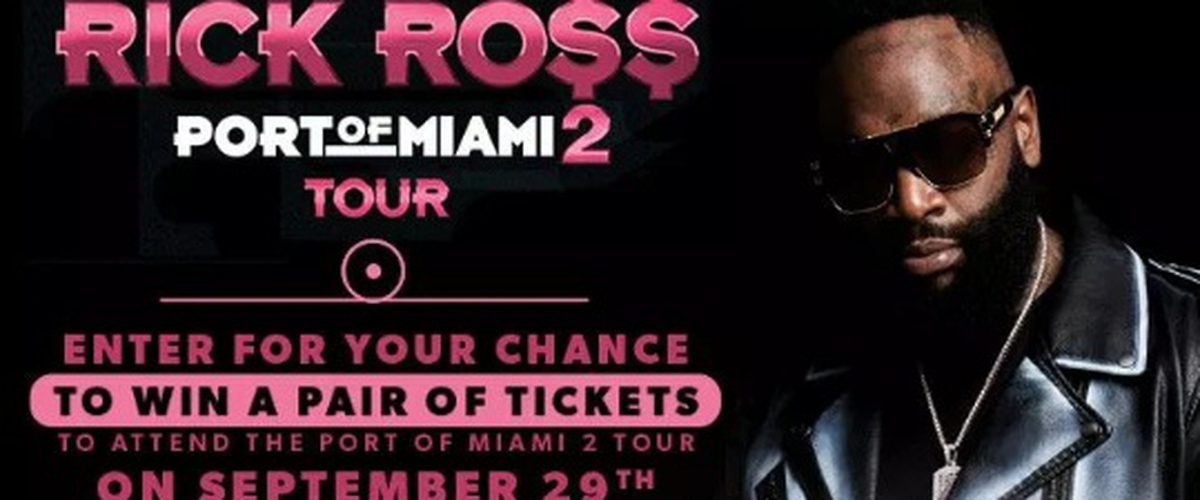 Rick Ross Online Contest - Enter To Win Tickets