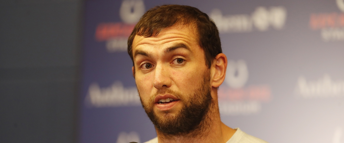 Andrew Luck Suddenly Announces His Retirement.