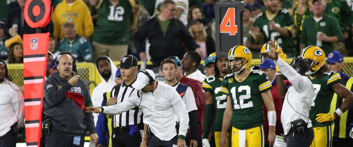 Fuller's Packers Report Card - Week 4: Rodgers & LaFleur Made Mistakes, but the Refs Made More