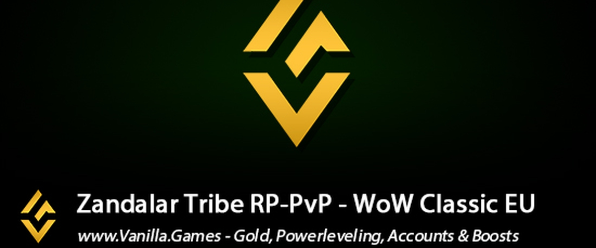 Buy WoW Classic Zandalar Tribe Gold available for Horde & Alliance