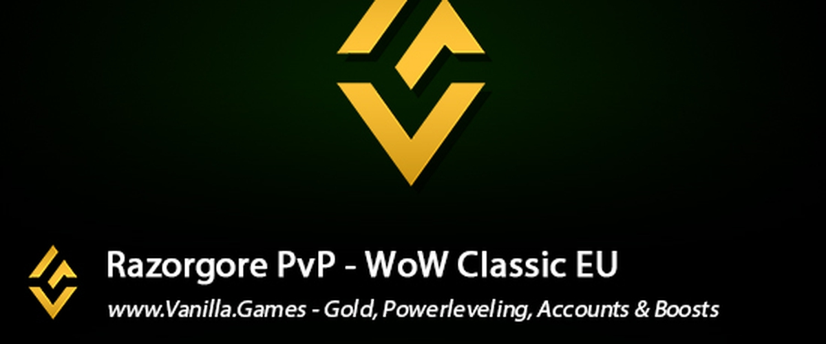 Buy WoW Classic Razorgore Gold available for Horde & Alliance