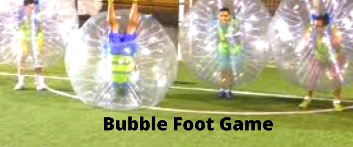 The environment of bubble football in Paris