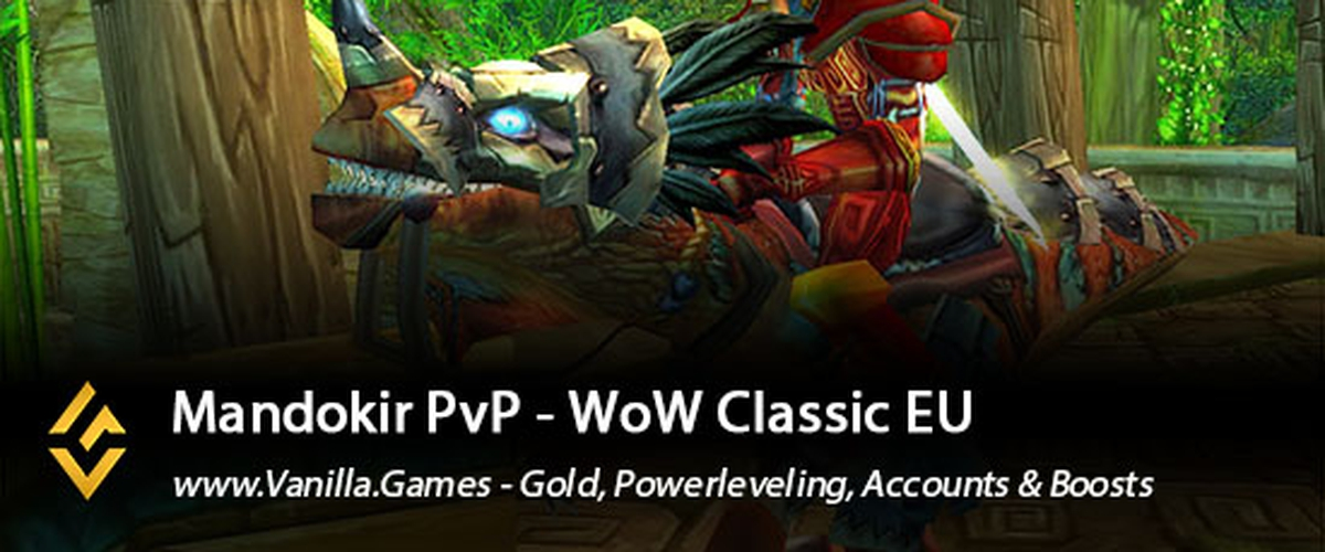 Buy WoW Classic Mandokir Gold available for Horde & Alliance