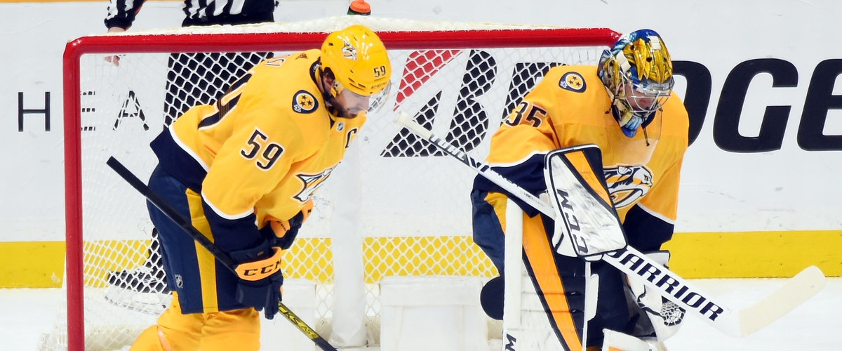 Stuck between a rock and a hard place: The Nashville Predators can't shake losing ways