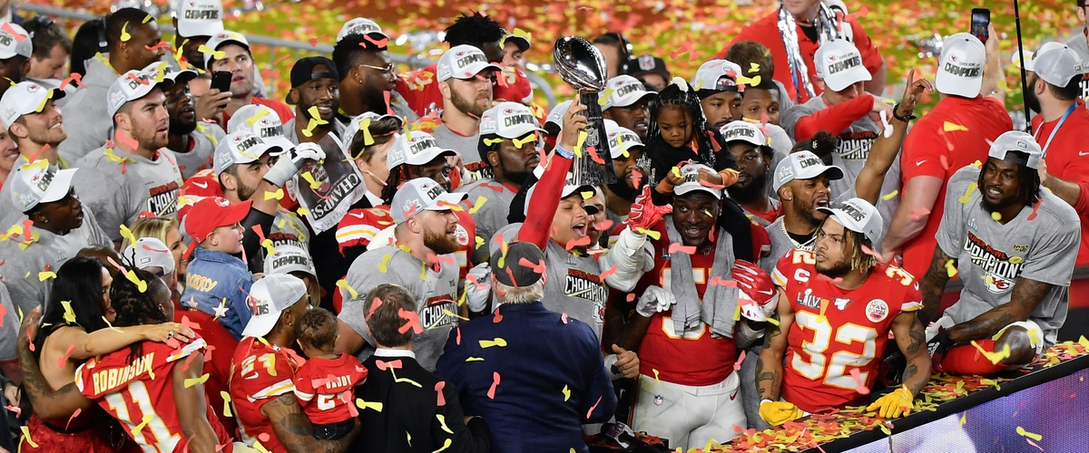 The Kansas City Chiefs are Super Bowl Champions in the NFL'S 100th Season.