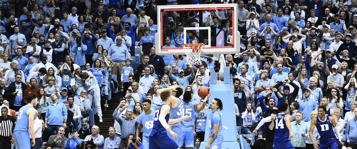 No.7 Duke beats UNC in Overtime.