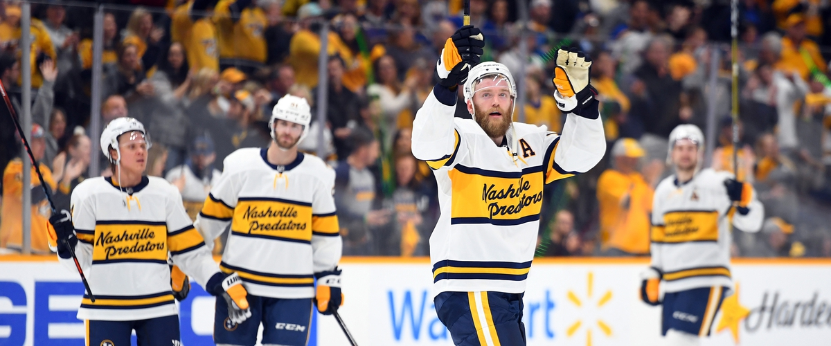 The Nashville Predators clutch up on the biggest weekend of the year