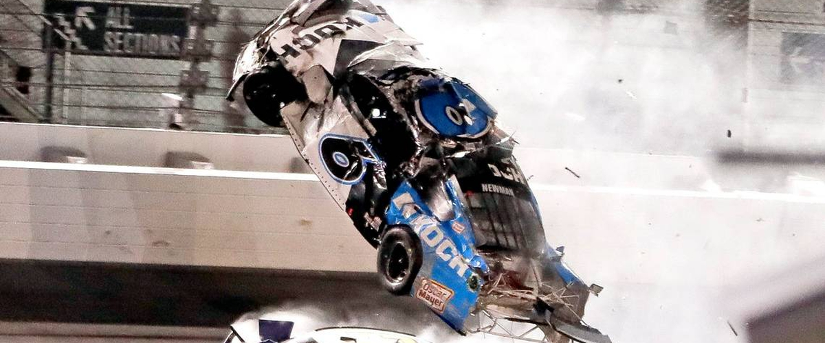 Ryan Newman crash reminds us of how dangerous Daytona really is