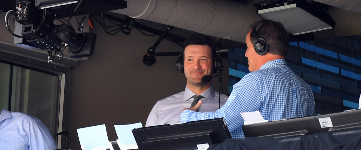 Tony Romo Will Be Staying at CBS For The Long Term.